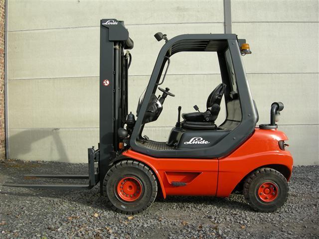 Etwas Neues genug LINDE H25D-03 4-wheel front forklift from Belgium for sale at &JG_49