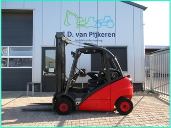 4-wheel front forklift LINDE H25T 2.5t LPG 4x hydrauliek!