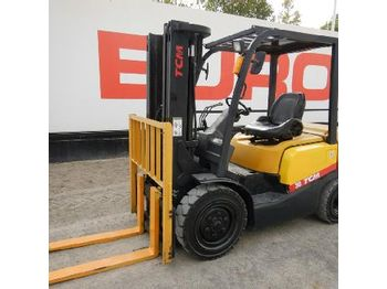 LOT # 0212 -- 2008 TCM FD30T3Z - 4-wheel front forklift