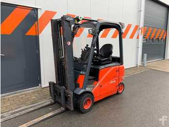 4-wheel front forklift Linde E20PH-01