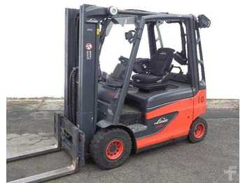 4-wheel front forklift Linde E 20-01-387 (3500 ore lavoro)