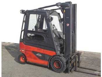 4-wheel front forklift Linde E 25-01/387: picture 1