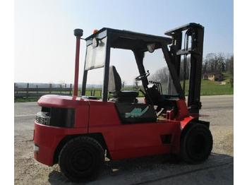 4-wheel front forklift Mitsubishi FD40