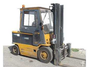 4-wheel front forklift Montini 4000 A-CE (batteria 2012)