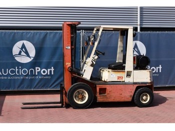 4-wheel front forklift Nissan PH02A-20U: picture 1