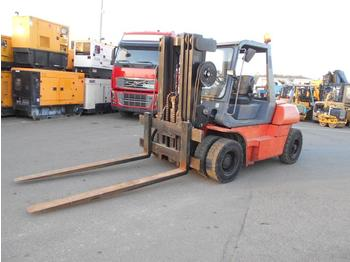 4-wheel front forklift Toyota 025FD60