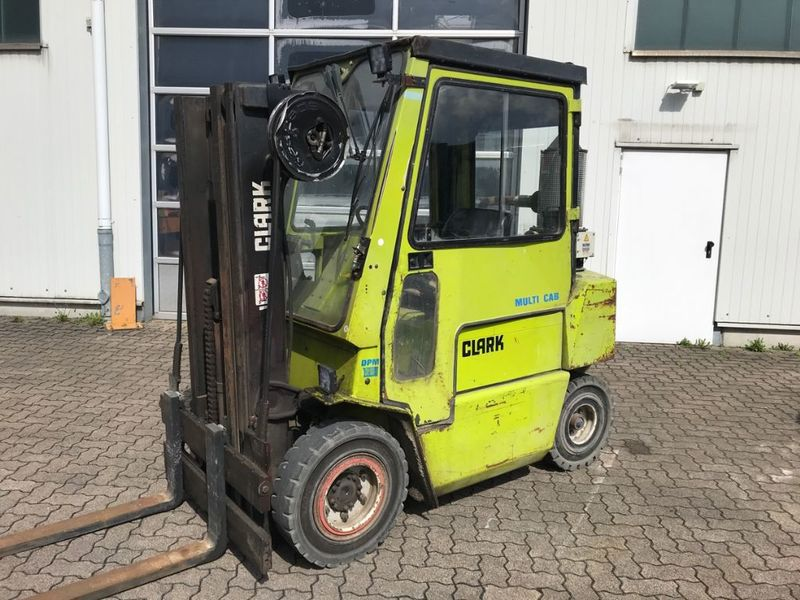 Clark DPM 25 forklift from Germany for sale at Truck1, ID