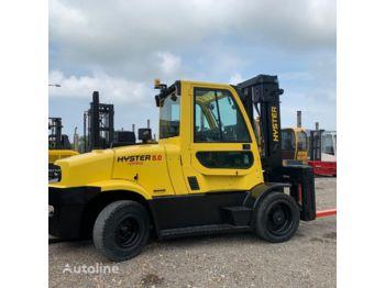 Forklift HYSTER H 8.0 FT9 DIESEL POSITIONER New Year promotion