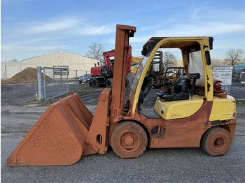 Forklift Hyster H 3.0 FT mit Schaufel - bucket
