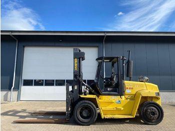 Forklift Hyster Perkins 9 ton Duplo Sideshift LPG Heftruck