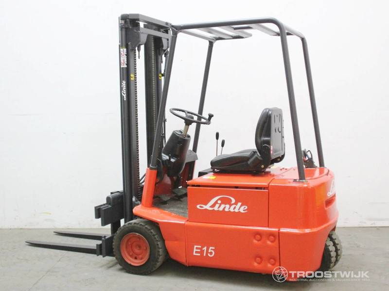 Top Linde E15 forklift from Netherlands for sale at Truck1, ID: 3610490 @GZ_36