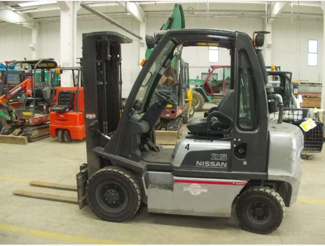 Forklift NISSAN DX 25 - Truck1 ID: 1201587