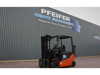 Forklift Toyota 8FBMT30 Valid inspection, *Guarantee! Electric, 3t