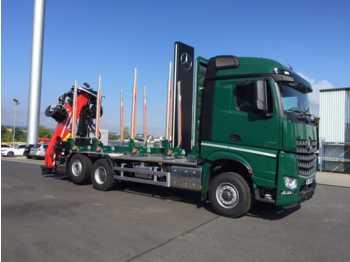 Mercedes-Benz Arocs 2751 L 6x2 (6x4) HAD + Cranab TZ12.2 + Ho  - camion grumier