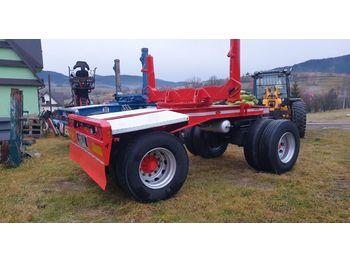 Scania Volvo Faymonville do drewna dłużycy lasu epsilon loglift doll huttner przyczepa - camion grumier