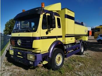 MERCEDES-BENZ 1417 4X4 - tracteur forestier