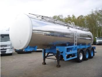 صهريج نصف مقطورة Melton Food tank inox 26 m3 / 1 comp