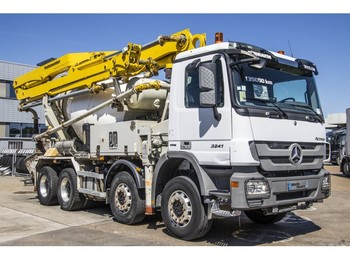 Mercedes-Benz ACTROS 3241 + PUTZMEISTER 24M - شاحنة