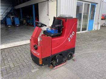 Makinë fshirëse e rrugëve Factory Cat Schrob- Zuig- machine, elektro