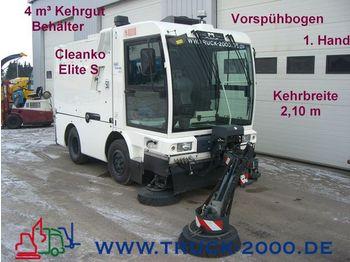SCHMIDT Cleango Elite S 3,7 m³ Behälter Neuwertig 1.Hand - makinë fshirëse e rrugëve