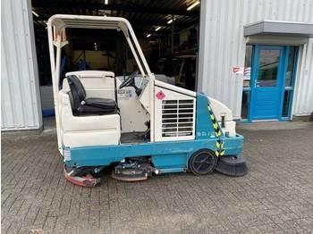 Makinë fshirëse e rrugëve TENNANT Veeg- Zuig- Schrobmachine, LPG