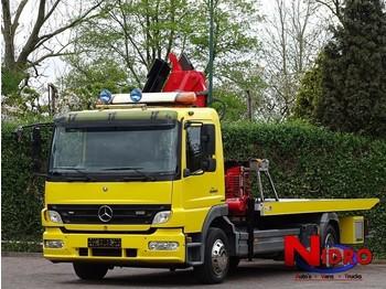Mercedes-Benz Atego 1222 TOWTRUCK CRANE BRILLE WINDE - remorqueuse
