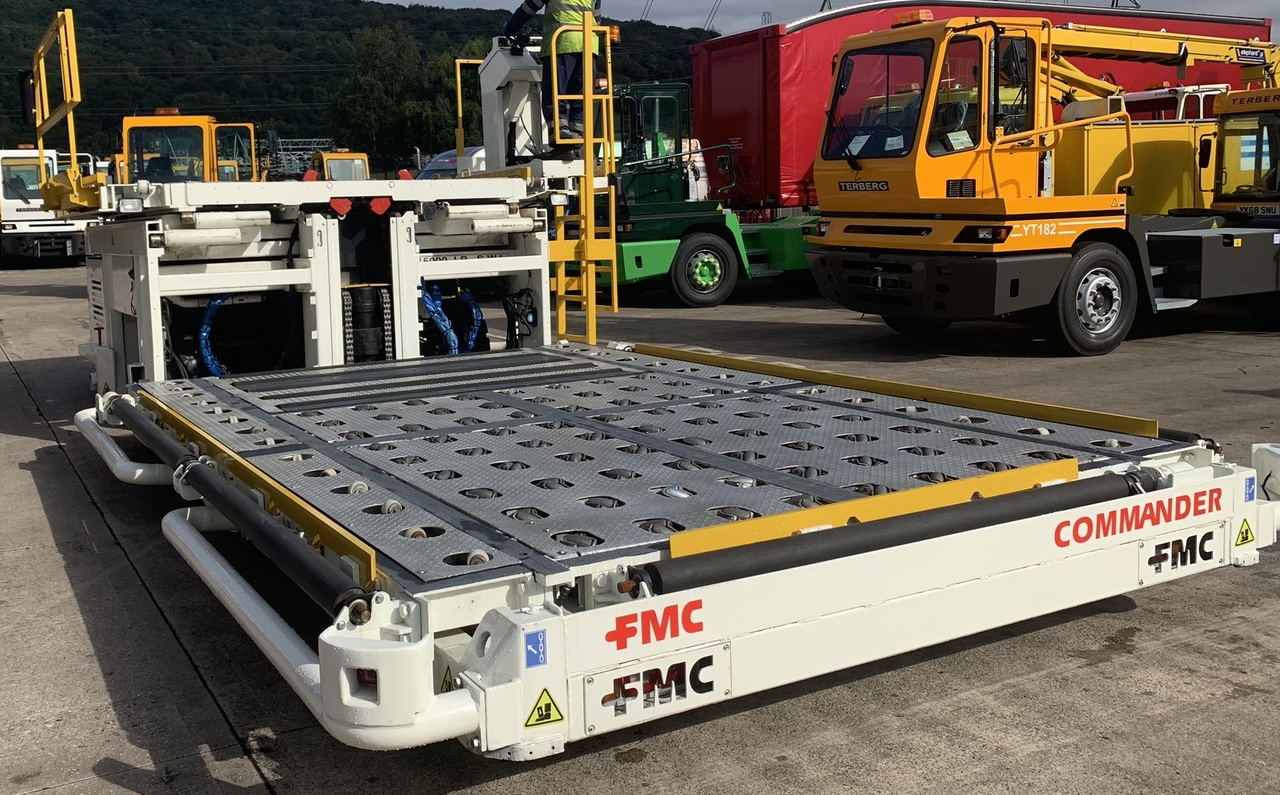 Aircraft cargo loader Lower Deck Loader 7 tons FMC Commander 15: picture 5