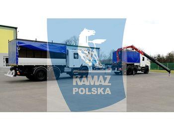 KAMAZ Samochód serwisowy 6x6 - سيارة اسعاف
