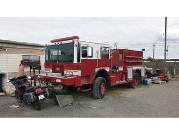 Fire truck ARF Crash Rescue KME P24 Brush 4x4