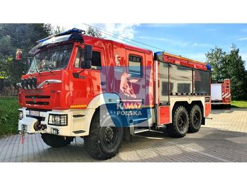 KAMAZ Pożarniczy 5200 liters - سيارة إطفاء