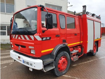 Renault M210 - 4000L tank - Complete with pump - fire truck