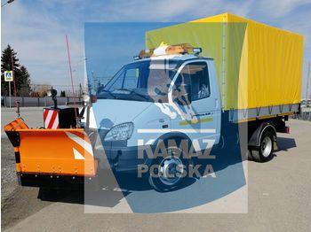 GAZ 4x4 do odśnieżania - آلية المنفعة/ مركبة خاصة