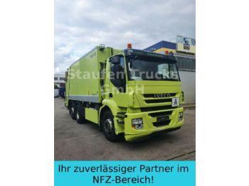 Garbage truck Iveco Stralis AD 260S36 ZÖELLER Pressmüll