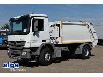 شاحنة النفايات Mercedes-Benz 2035 S, Müllsammler 12m³, Euro 2, Klima,am Lager