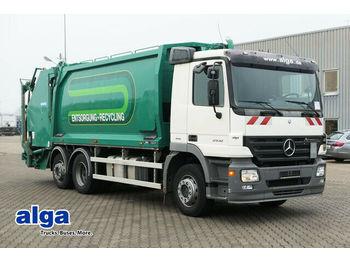شاحنة النفايات Mercedes-Benz 2532 L Actros/6x2/Geesink 22 m³./Schüttung