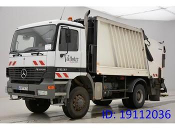 شاحنة النفايات Mercedes-Benz Actros 2031AK - 4x4