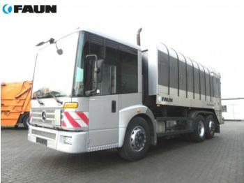 Mercedes-Benz ECONIC 2628 6x2 Müllwagen Zoeller Schüttung  - شاحنة النفايات