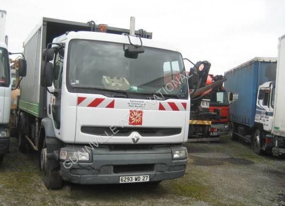 garbage truck Renault Premium 260