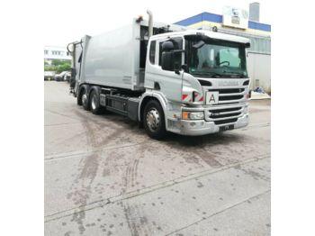 Garbage truck Scania P 320 6x2 Müllwagen FAUN VARIOPRESS
