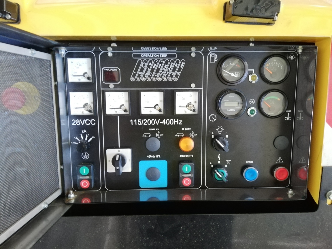 Ground support equipment Guinault GPU GB60/20 with 60kvA for ATR/E145/Jets: picture 6