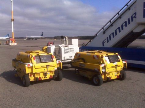 Ground support equipment Guinault GPU GB60/20 with 60kvA for ATR/E145/Jets: picture 7