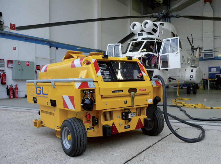 Ground support equipment Guinault GPU GB60/20 with 60kvA for ATR/E145/Jets: picture 8