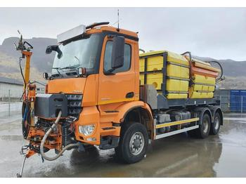 Mercedes-Benz Arocs 6x6 flushing truck 394 CV well-equipped  - آلية المنفعة/ مركبة خاصة