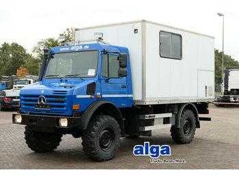 آلية المنفعة/ مركبة خاصة Mercedes-Benz Unimog U4000, Werkstatt, Service, AHK: صورة 1