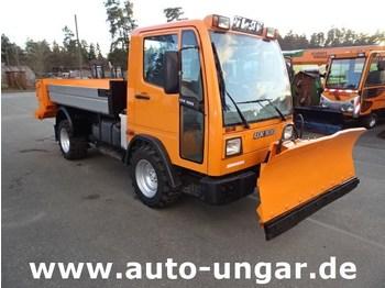 Multicar UX 100 Unimog 4x4 Winterdienst Schneeschild + Streuer - آلية المنفعة/ مركبة خاصة