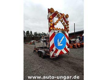 آلية المنفعة/ مركبة خاصة Nissen A4 L84-200 Warnleitanhänger Funk Rampe
