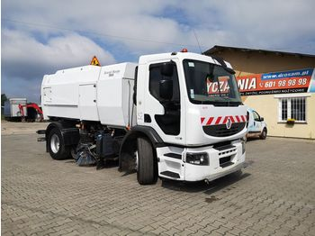RENAULT Premium 320 DXI sweeper, street sprinkler, kehrmaschine - مكنسة كهربائية