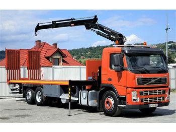 Volvo  FM9 300 Abschleppwagen 8,90m + Kran *6x2*  - شاحنة سحب