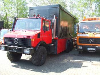 Unimog U 1200 T, Ruthmann, Niederflurhubwagen  - آلية المنفعة/ مركبة خاصة