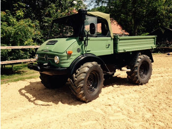 Unimog U 406, U 900, Cabriolet, Agrar, Oldtimer  - آلية المنفعة/ مركبة خاصة